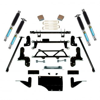 "Superlift® - 4""-6"" x 4"" Master Front and Rear Suspension Lift Kit"