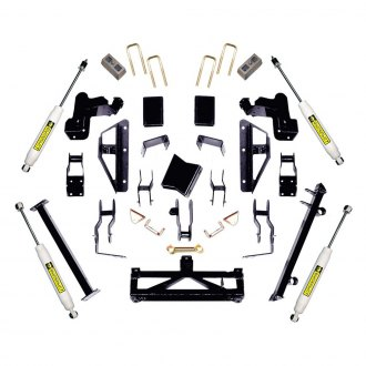 "Superlift® - 6""-7.5"" x 5"" Master Front and Rear Lift Kit"