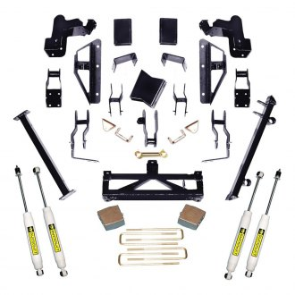 "Superlift® - 6""-7.5"" x 5"" Master Front and Rear Suspension Lift Kit"