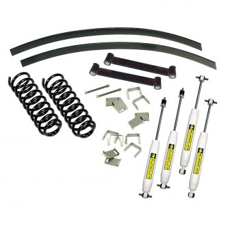 "Superlift® - 3"" x 2.5"" Master Front and Rear Suspension Lift Kit"