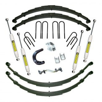 "Superlift® - 8"" Master Front and Rear Suspension Lift Kit"