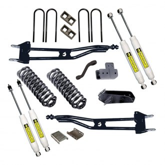 "Superlift® - 6"" x 4"" Superunner Front and Rear Suspension Lift Kit"