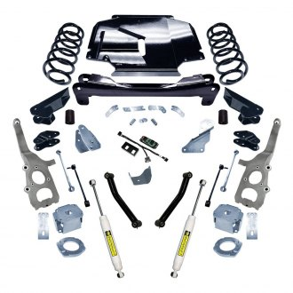 "Superlift® - 4"" x 4"" Master Front and Rear Suspension Lift Kit"