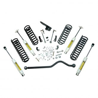 "Superlift® - 4"" x 4"" Standard Front and Rear Suspension Lift Kit"