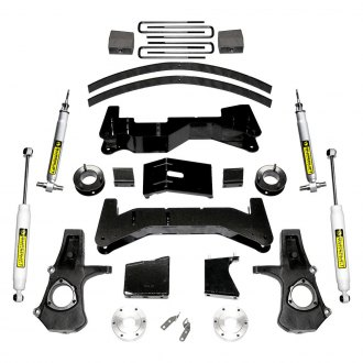 "Superlift® - 8"" x 8"" Front and Rear Lift Kit"