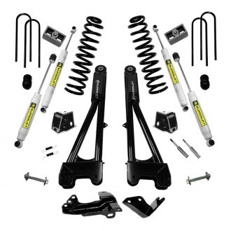 "Superlift® - 4"" Radius Arm Front and Rear Suspension Lift Kit"