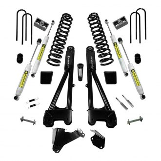"Superlift® - 6"" Radius Arm Front and Rear Suspension Lift Kit"