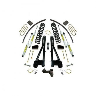 "Superlift® - 8"" Radius Arm Front and Rear Suspension Lift Kit"