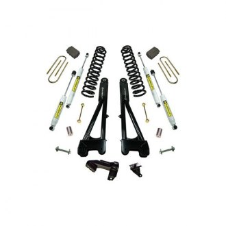 "Superlift® - 4"" x 2.5"" Radius Arm Front and Rear Lift Kit"
