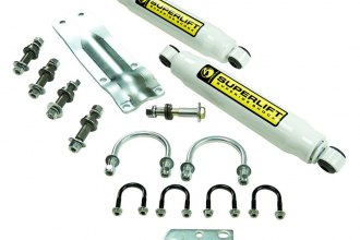 Superlift® - Dual Steering Stabilizer Complete Kit