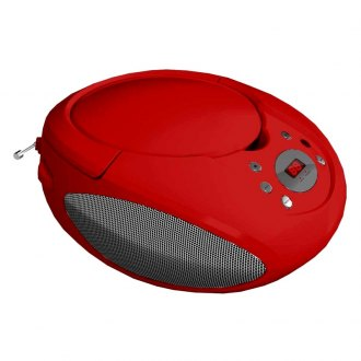 Supersonic® - Portable MP3 CD Player Red
