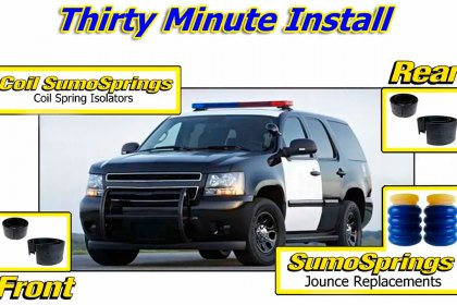 SuperSprings® Sumosprings Improves Ride Control of Police Pursuit Vehicles (HD)