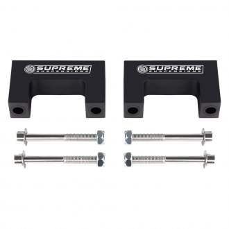 "Supreme Suspensions® - 2"" Pro Billet Front or Rear Lower Leveling Strut Spacers"