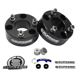 "Supreme Suspensions® - 3.5"" Pro Billet Series Front Strut Spacers"