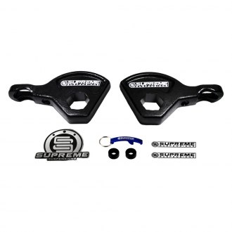 "Supreme Suspensions® - 1-3"" Lift Max Torsion Series Front Lift Key Kit"
