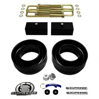 "Supreme Suspensions® - 3"" x 1.5"" Pro Series Front and Rear Complete Lift Kit"
