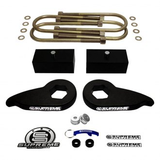 "Supreme Suspensions® - 1""-3"" x 1"" Pro Series Front and Rear Complete Lift Kit"