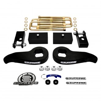 "Supreme Suspensions® - 1-3"" Pro Series Front and Rear Suspension Full Lift Kit"