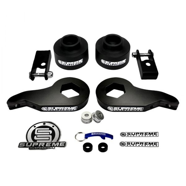 Supreme Suspensions® - Pro Series Front and Rear Complete Lift Kit