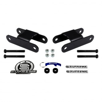 "Supreme Suspensions® - 2"" Pro Series Rear Lifted Leaf Spring Shackles"