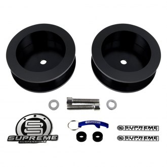 "Supreme Suspensions® - 2.5"" Pro Series Rear Coil Spring Spacers"