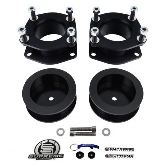 "Supreme Suspensions® - 2.5"" x 2.5"" Pro Series Front and Rear Suspension Full Lift Kit"