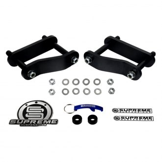 "Supreme Suspensions® - 1.5""-2"" Pro Series Rear Lifted Leaf Spring Shackles"