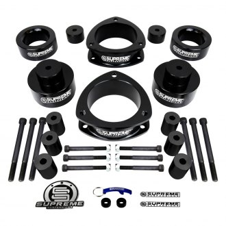 "Supreme Suspensions® - 2"" x 2"" Pro Series Front and Rear Complete Lift Kit"