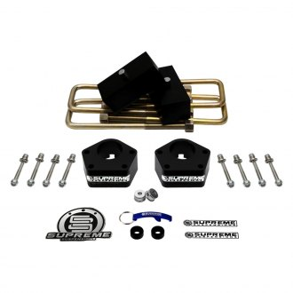 "Supreme Suspensions® - 2.5"" x 1"" Pro Series Front and Rear Complete Lift Kit"
