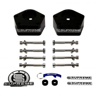 "Supreme Suspensions® - 3"" Pro Billet Series Front Strut and Shock Spacers"