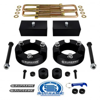Supreme Suspensions® - Pro Billet Series Front and Rear Suspension Full Lift Kit