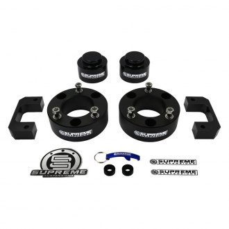 "Supreme Suspensions® - 3.5"" Pro Billet Series Front and Rear Complete Lift Kit"