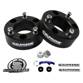 "Supreme Suspensions® - 2.5"" Pro Billet Series Front Strut Spacers"