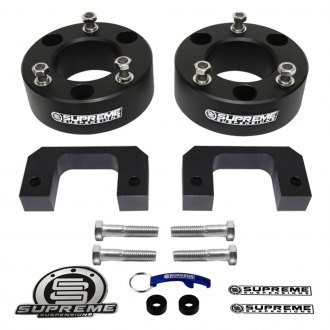 "Supreme Suspensions® - 3.5"" Pro Billet Series Front Strut and Shock Spacers"