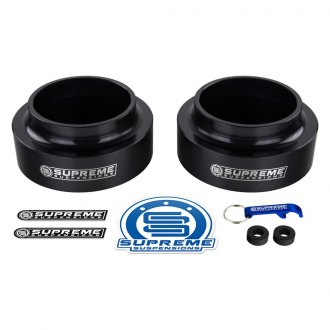 "Supreme Suspensions® - 2.5"" Pro Billet Series Rear Coil Spring Spacers"