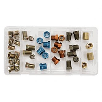 "S.U.R. & R® - 1/4"" Brake Line Fitting Assortment"