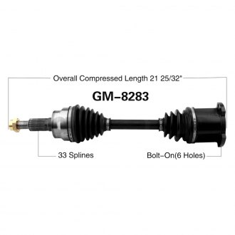 SurTrack® - CV Axle Shaft