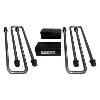 SuspensionMAXX® - Rear Heavy Duty Block and U-Bolt Kit