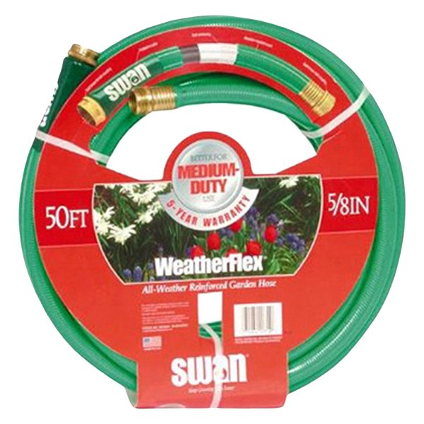 Swan Products SNWF58050 Weather Flex Garden Hose 58 x 50