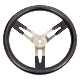 Sweet Manufacturing® - 3-Spoke Dished Steering Wheel with Large Grip