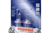 Sylvania® - Low Beam SilverStar Headlight Replacement Bulbs (H7)