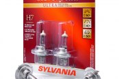 Sylvania® - Low Beam SilverStar Ultra Headlight Replacement Bulbs (H7)