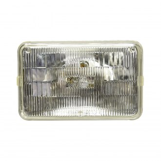 "Sylvania® - 4x6"" Rectangular Chrome Basic Factory Style Headlight"