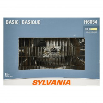 "Sylvania® - 7x6"" Rectangular Chrome Factory Style Headlight"