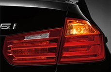 Sylvania® - Replacement Tail Light Bulbs on BMW 3-Series