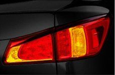 Sylvania® - Replacement Tail Light Bulbs on Lexus is350