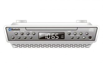 Sylvania® SKCR2713 - Under-Counter Bluetooth CD Clock Radio