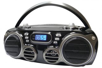 Sylvania® - Bluetooth Portable CD Radio Boom Box