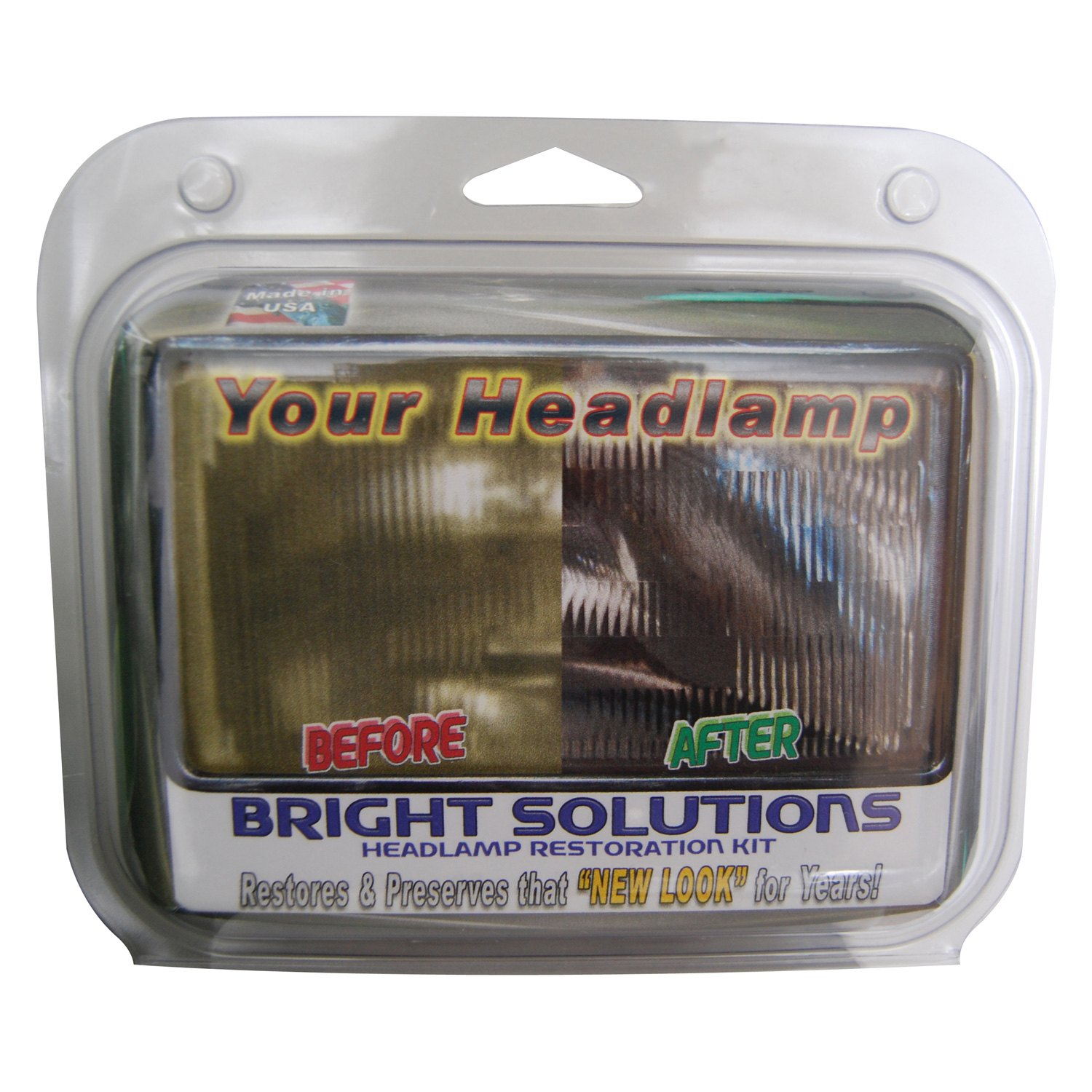 Symtech® 75010010 - Bright Solutions™ Headlamp Restoration Car Care Kit