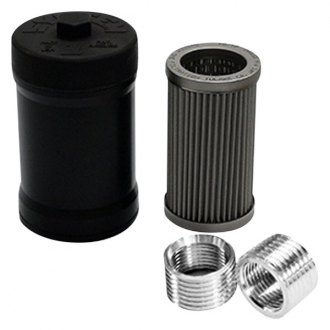 "System 1® - Black Tall Spin-On Oil Filter, 35 Micron, 3"" Outside Diameter"